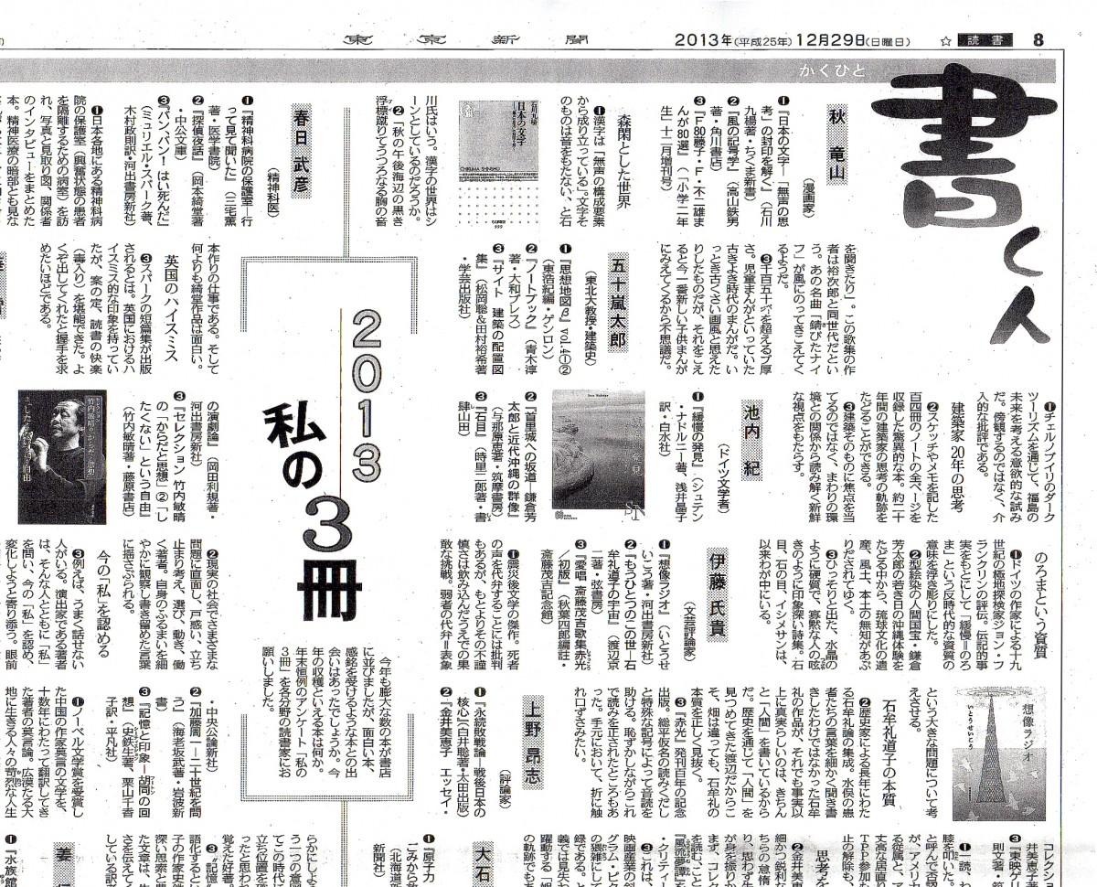 東京新聞書評20131229-tirm